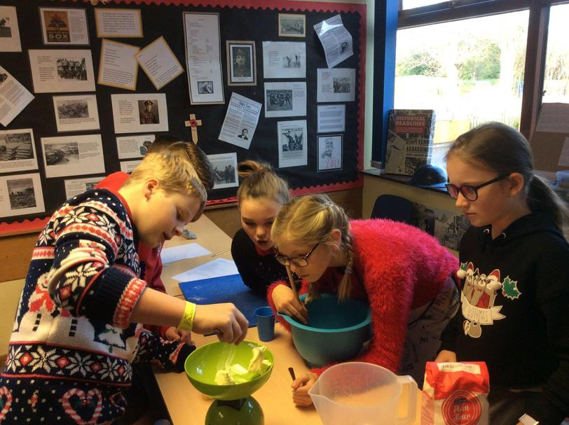 Y6 created their own recipes