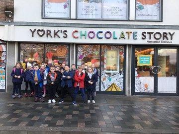 Learning about the history of chocolate Y3 in York