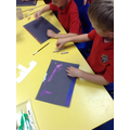 Y2 Pastel work inspired by Claude Monet