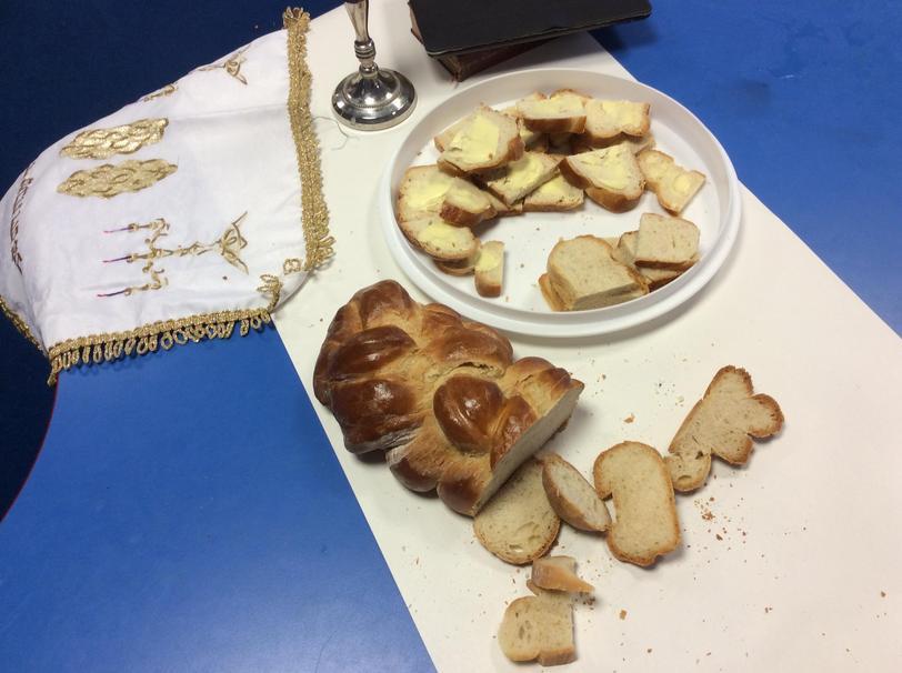 Y1 baking Challah bread: RE link