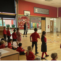 Tricky word read, race and write game Y1