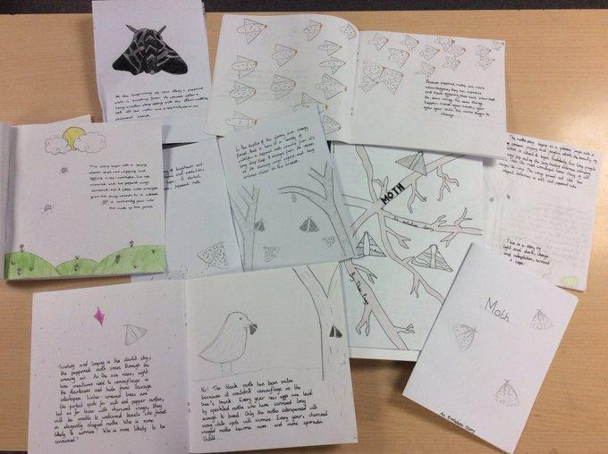 Y6 wrote their own books #History #Evolution
