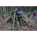 Year 2 den building at Sherwood