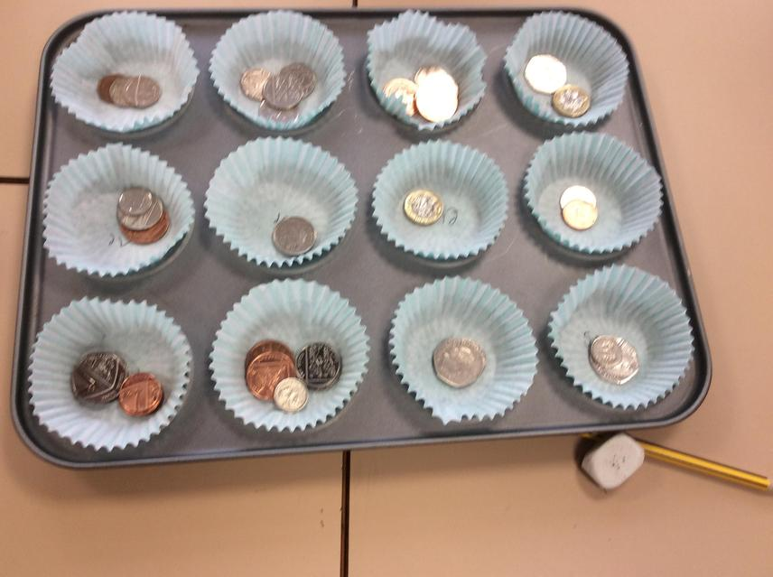 Finding amounts of money in Y1