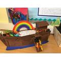 KS1 work based on Noah's Ark
