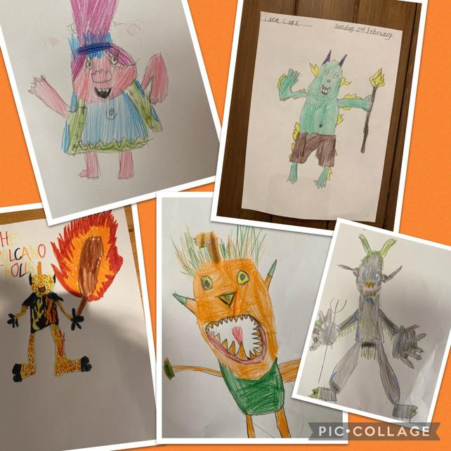 We created different troll types and described their appearance, diet and