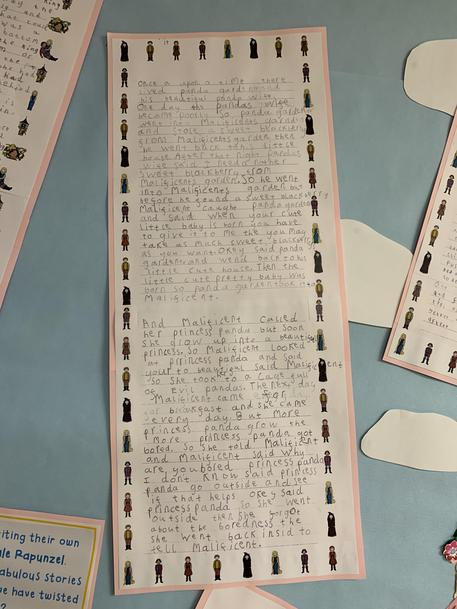 Y2 Independent Writing (Autumn 1) - Twist on the Fairy Tale Rapunzel