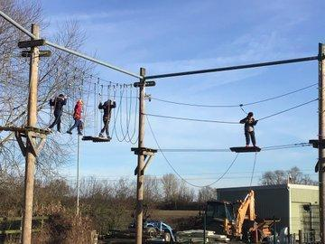High Rope adventure for Year 3