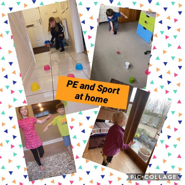 Outstanding PE and sport from home! #BeatTheTeacher #CompletePE