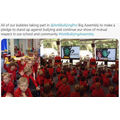 Sept 2020 all our bubbles take part in the anti-bullying assembly