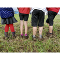 Muddy feet at Flintham Show