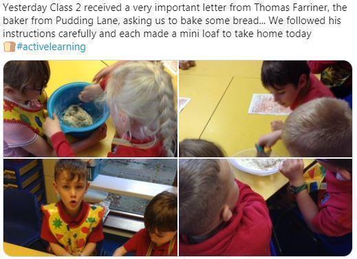 Y2 following Thomas Farriner's bread recipe