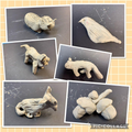 Year 2 clay sculptures