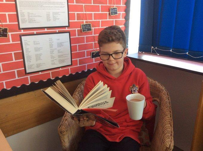Year 6 Starbooks Cafe Open For Business