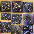 Class 4/5's Nebula Constellation Space Art
