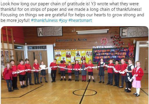 Y3 chain of gratitude