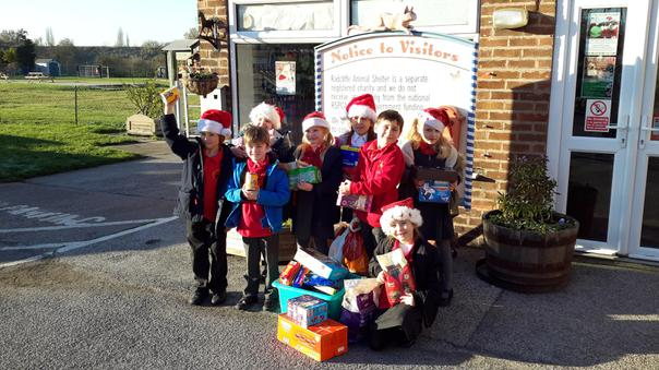 RSPCA, Radcliffe, Christmas food collection