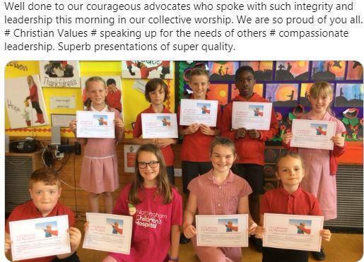 KS2 Courageous Advocacy Whole School Presentations