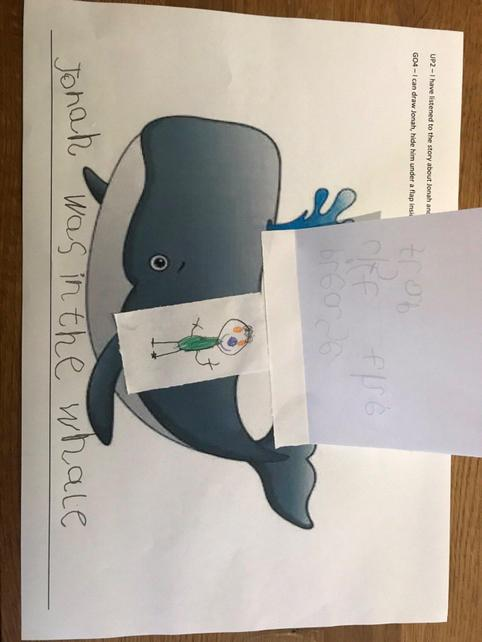 F have been learning about how to be brave and have been discussing the character of Jonah