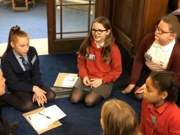 Y6 Community debating in Nottingham