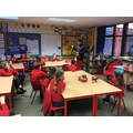 Mr Kahn teaching about Islam to Y4/5