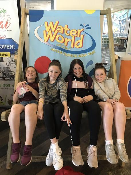 Y6 enjoying Water World