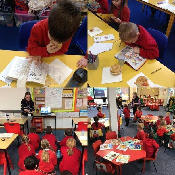 Whole School Virtual Breakfast With Books