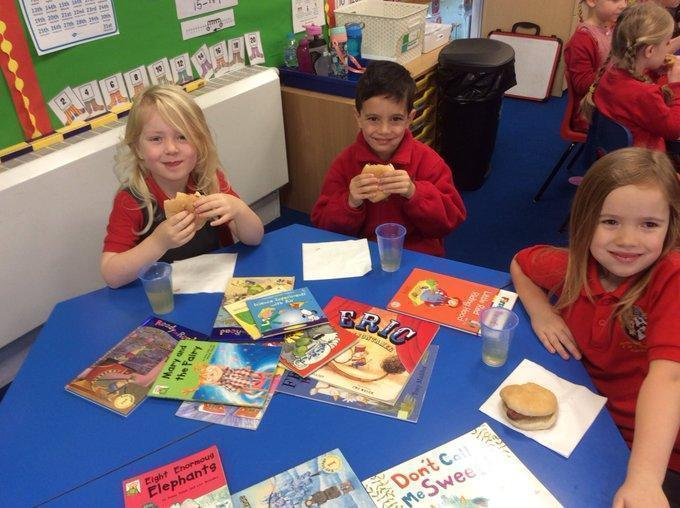Breakfast With Books Year 1