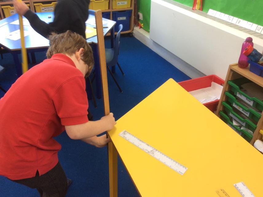 Measuring in m in Y1