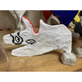 Year 5 mod-roc sculptures inspired by Pablo Picasso