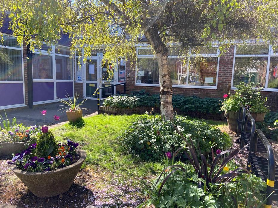 Reception - garden