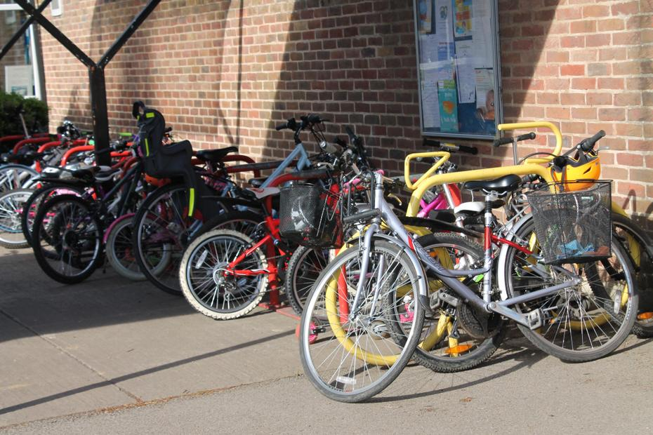 School Bicycles and Scooters