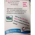 RACE FOR LIFE 15/7/16