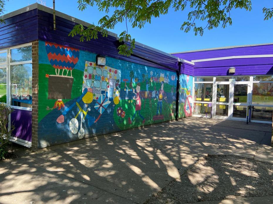 Back Playground - Mural