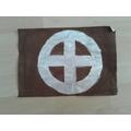 S W has carefully designed a Viking flag