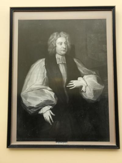 Portrait of Archbishop William Wake (1657-1737).