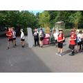 Thursday - whole school sponsored walk