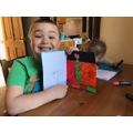 R has made a lovely card