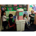 Visiting the Nursery Hairdressers