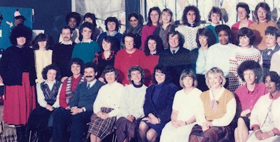 Staff 1986/87
