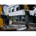 The oldest part of Arden being demolished - July 2007