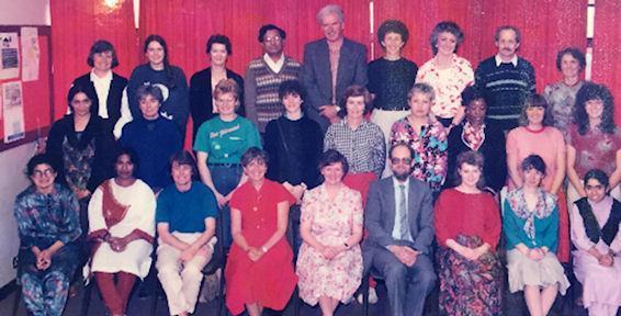 Staff 1989/90