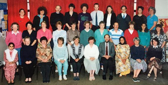 Staff 1992/93