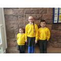 WC 250319 - Tillie F, Clayton & Franki