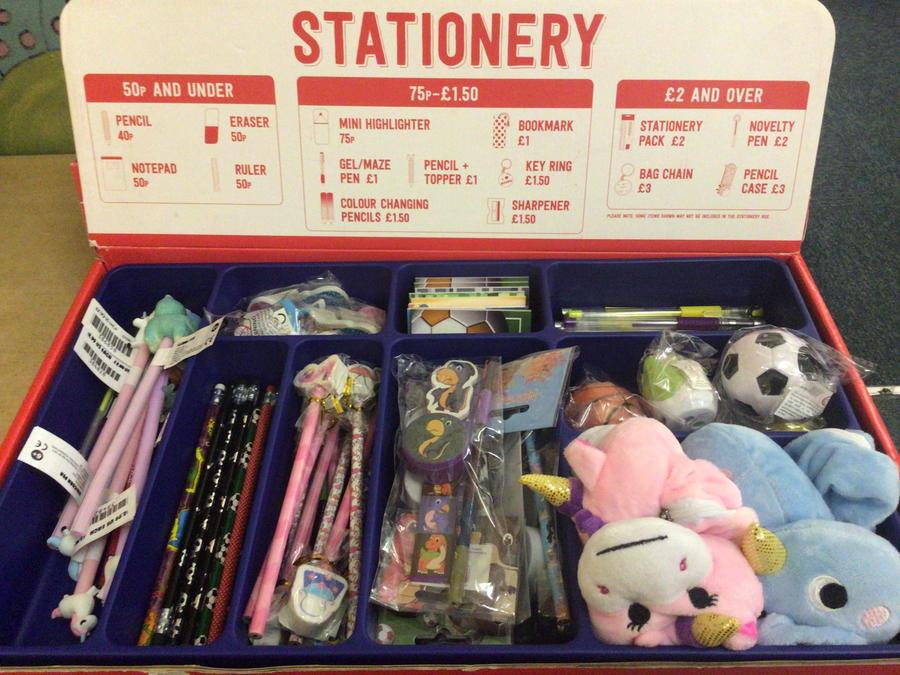 We have every child's stationary needs.