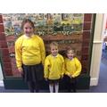 WC 290419 - Freya, Skyla & Emi