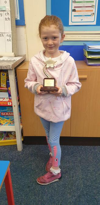 Paige Fowler KS1 Progress Award 19 -20