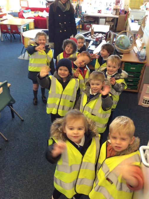 We were ready to set off to the Post Office