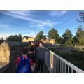 Evening walk in York