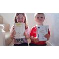 Hannah has written her own story book.